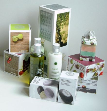 La Chinata Olive Oil Toiletries and Candles